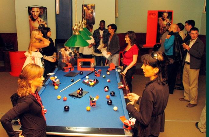 "Presentation of ""Boss In Motion""  In  Billiard Club ""Imperial"""